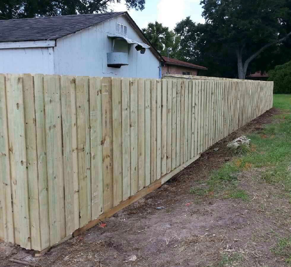 Wood Privacy Fence Hercules Fence Company