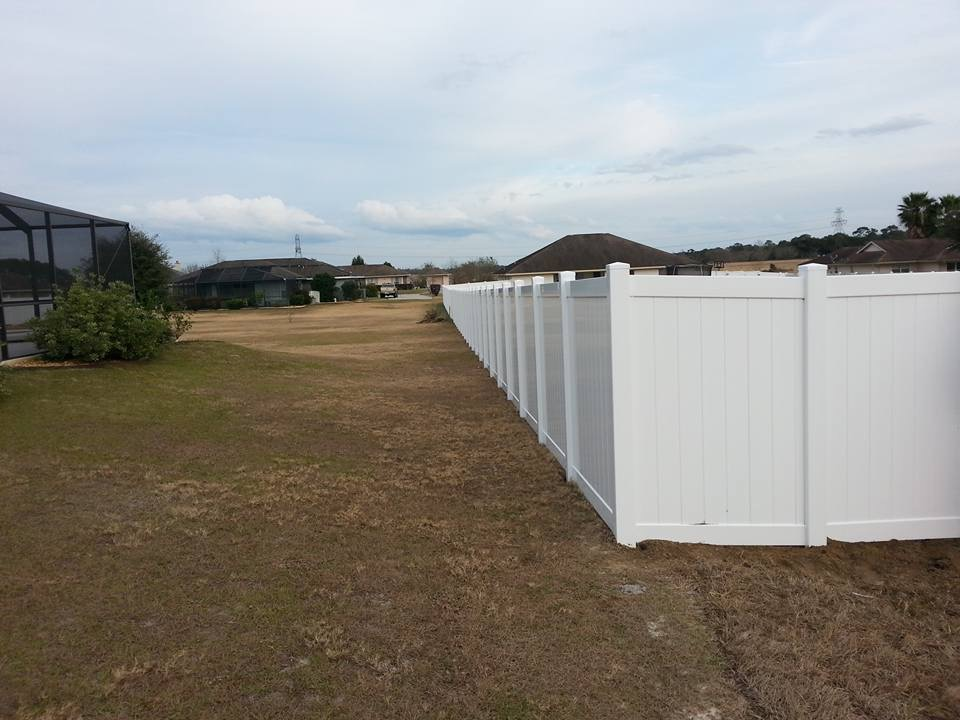 Large Yard Gets Privacy Hercules Fence Company