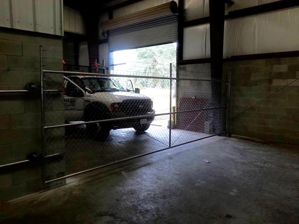 Warehouse Roll Gate Hercules Fence Company