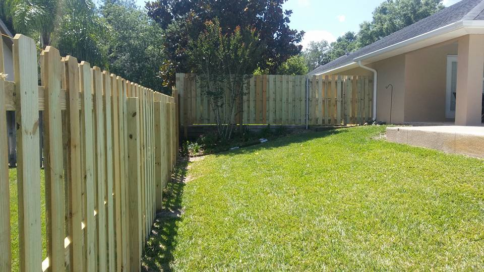 Shadowbox Wood Privacy Fence Hercules Fence Company