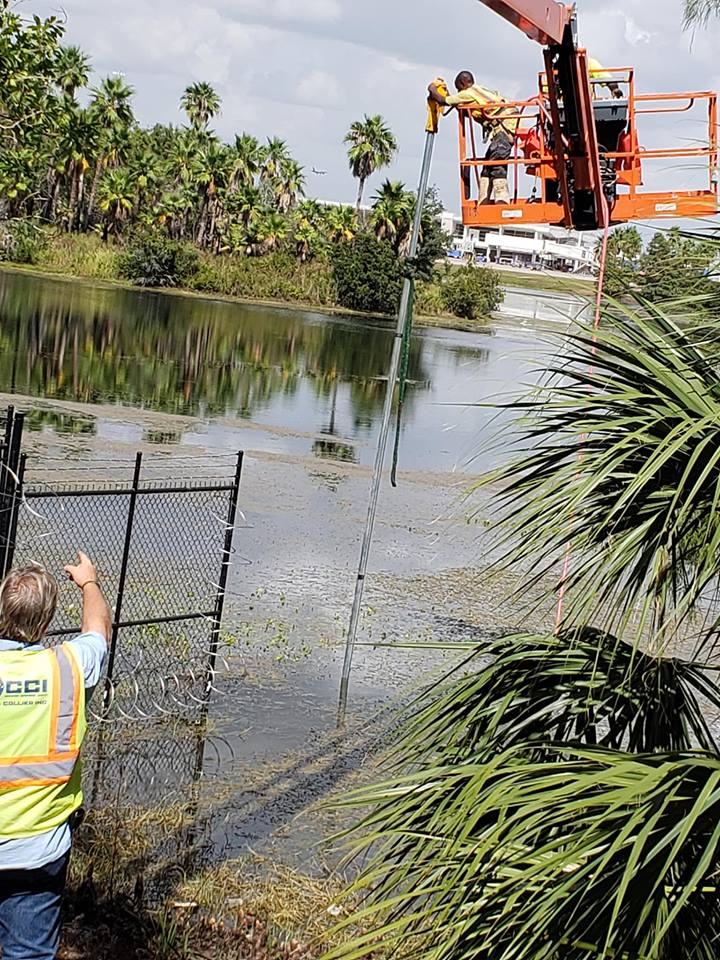 Water Does Not Stop Us Hercules Fence Company
